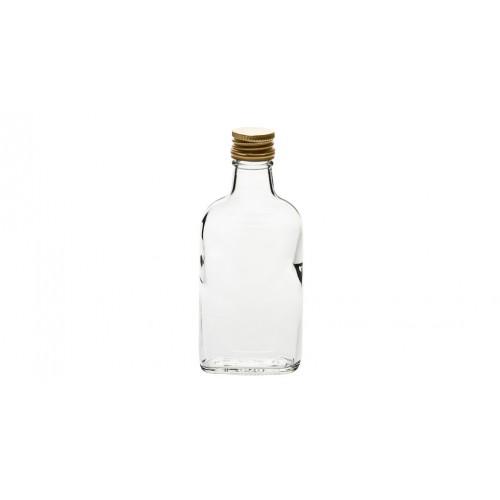 Butelka piersiówka 200ml + zakrętka