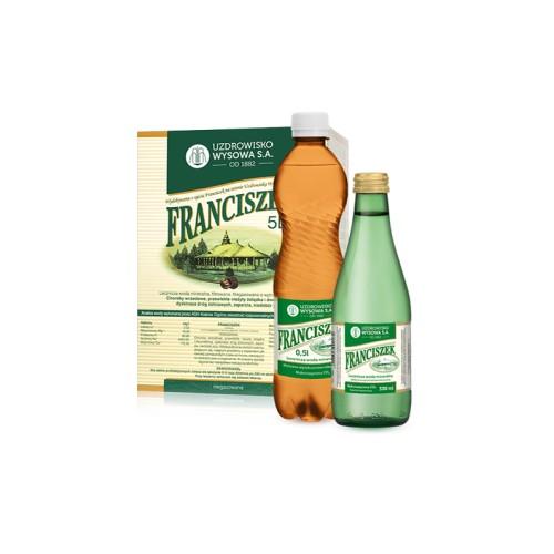 Woda lecznicza Franciszek 0,33l bezzwrotna