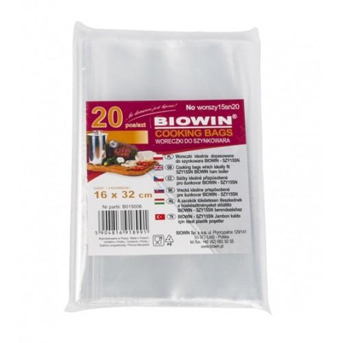 Woreczki foliowe do szynkowara 3,0kg - 20szt