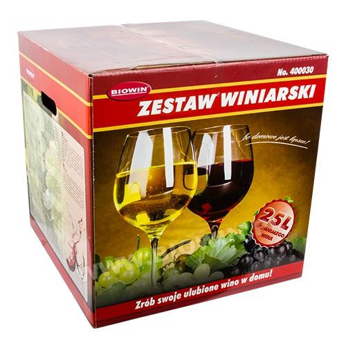 Zestaw winiarski 25l
