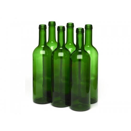Butelka do wina 0,75L - zielona