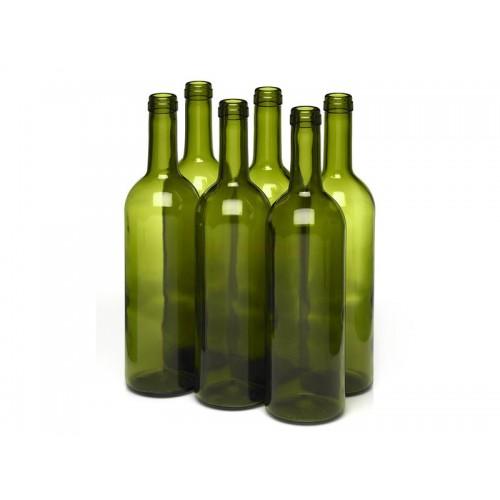 Butelka do wina 0,75L - oliwka