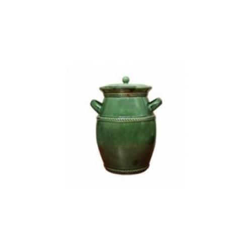Beczka ceramiczna 5l. zielona