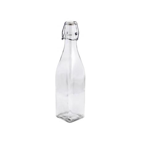 Butelka 500ml. kwadratowa clear