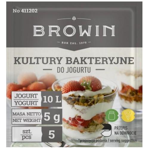 Kultury bakteryjne do jogurtu na 2l mleka