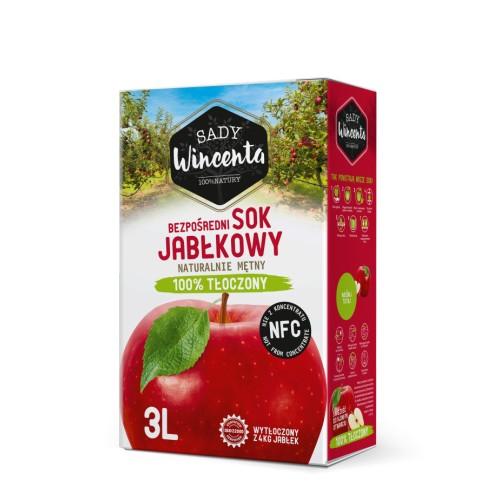 Sok jabłkowy 3l.