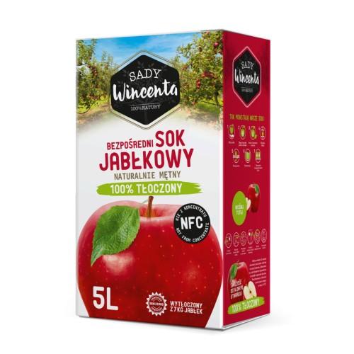 Sok jabłkowy 5l.