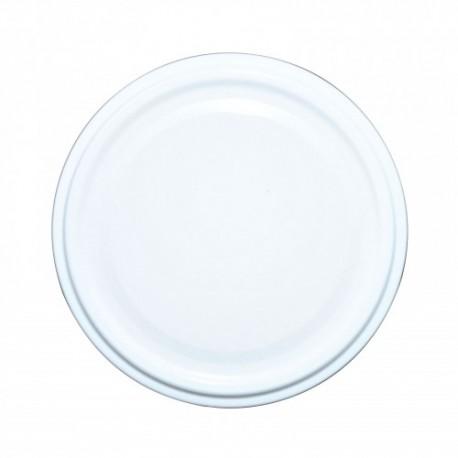 Wieczko Ø82 4 Z - białe