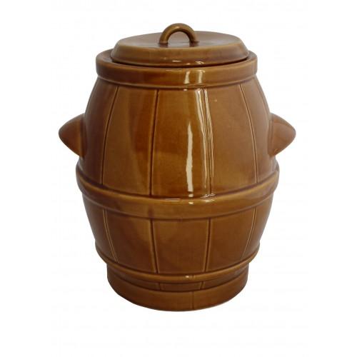Beczka ceramiczna 5L. miód