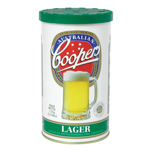 Koncent. do wyrobu piwa Lager - 1,7 kg